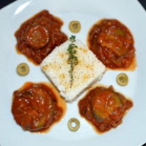 Zucchini Nach Arabischer Art Klein