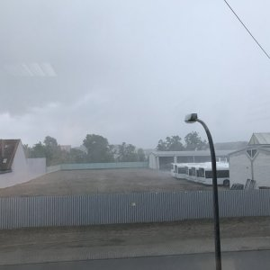 Gewitter 11.06.2018 Ludwigshafen-Ruchheim