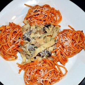 Pasta Di Pomodore Al Funghi 31102018