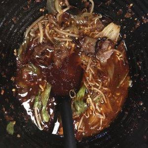 Rindfleisch in Sichuan-Ölsuppe
